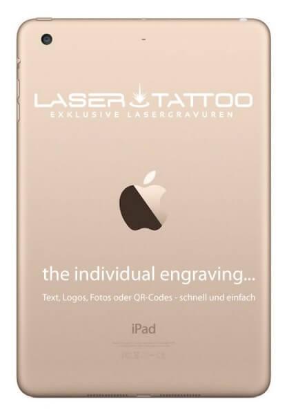 Gravur auf Apple iPad mini