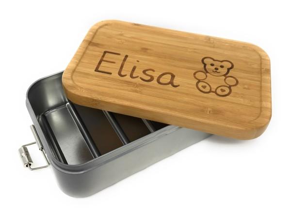 Lunchbox XL Bamboo - Stil trifft Nachhaltigkeit - AUSVERKAUFT