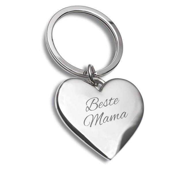 Beste Mama - Schlüsselanhänger für Muttertag