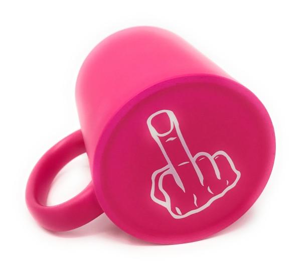 Tasse Pink Mittelfinger