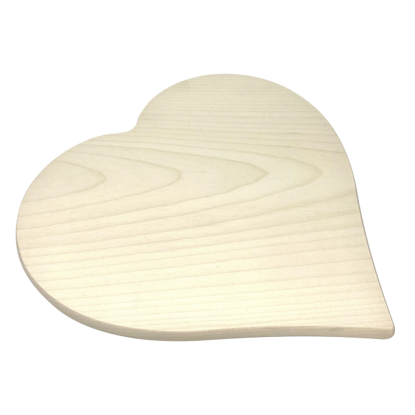 Holz Herz aus massivem Ahornholz