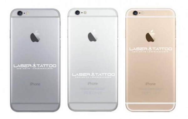 Lasergravur Apple iPhone 6 / 6S