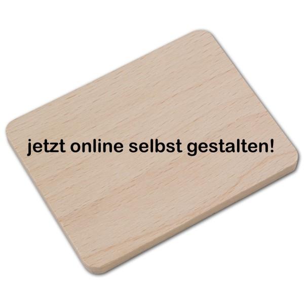 Raclette Untersetzer aus Holz online Gestalten