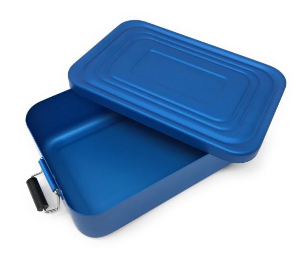ROMINOX Quadra Lunchbox blau matt mit Gravur